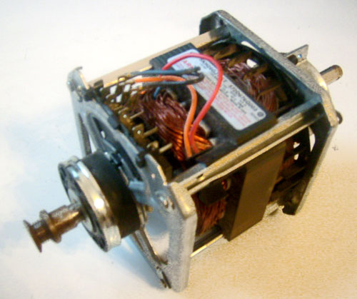 GE Dryer Motor WE17M24 Manufacturer # 5KH26GJ116T 572D676G003