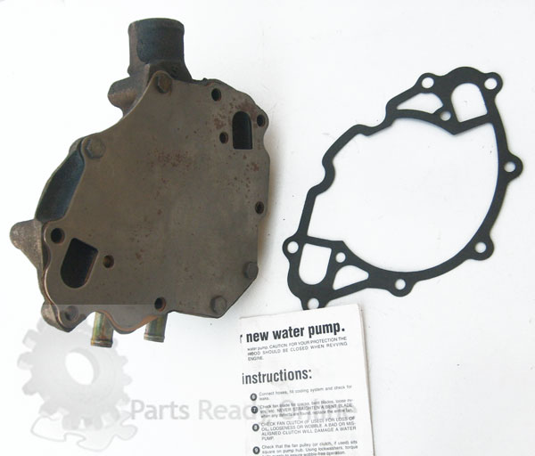 GMB Water Pump C 125-1230 for 1985-93 Mustang 5.0L 083286125230