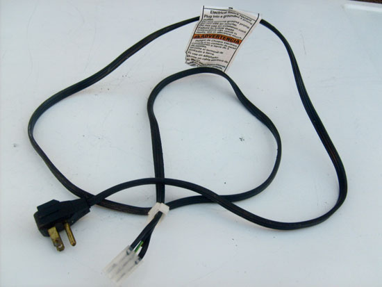 Kenmore Washer Power Cord 3948063 (285800)