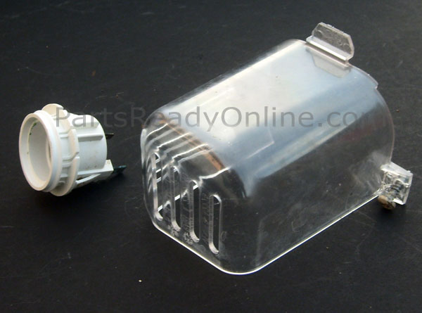 OUT OF STOCK $9.99 Freezer Light Socket 2155597 with Cover for Whirlpool Kenmore Side By Side Refrigerator
