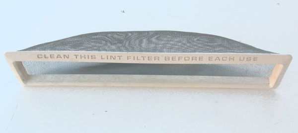 "GE Hotpoint Lint Filter WE18X53 Lint Screen 12"" x 2"""