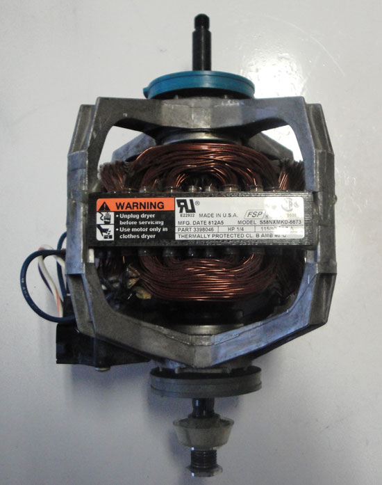 Whirlpool Kenmore Dryer Motor 3976707 1/3HP 115/60 5.9A Model S58NXMKE-6844