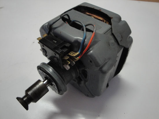 1/3HP GE Dryer Motor 5KH47DT45S 115V 6.4A 1725 RPM