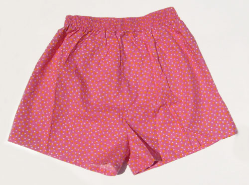 Girls Fun Pijama Shorts Polka Dot Pink Size 10-12