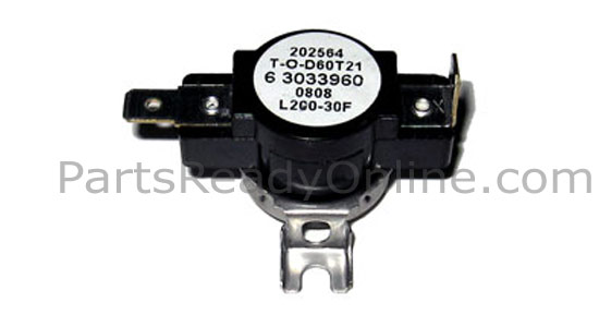 Maytag High Limit Thermostat 303396 L200-30