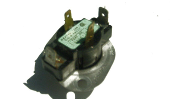 Whirlpool Kenmore Dryer Thermostat 3398128 L145-20F with 4 Terminals