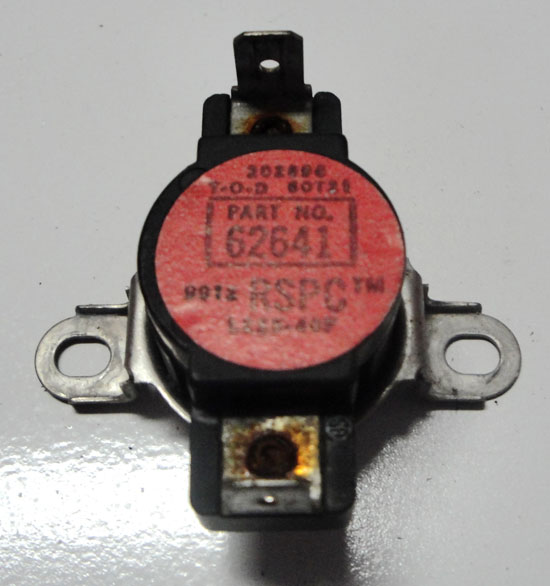 Dryer Thermostat 62641 for Maytag Amana L225-40F