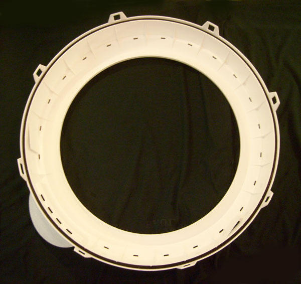 Admiral Maytag Washer Outer Tub Ring 35-5663 (replaces outer tub top 21001531) and Tub Seal 35-2328
