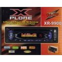 X-PLORE SYSTEMS In-Dash Car CD Player AM/FM Radio Receiver with Detachable Front Panel XR-9900