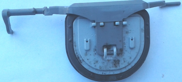 Refrigerator dispenser ice chute door ABN72938902