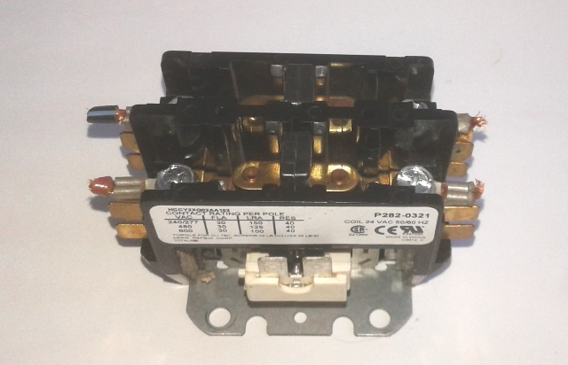 Carrier 2 Pole Contactor 24V 30amp P282-0321 HCCY2XQ02AA102