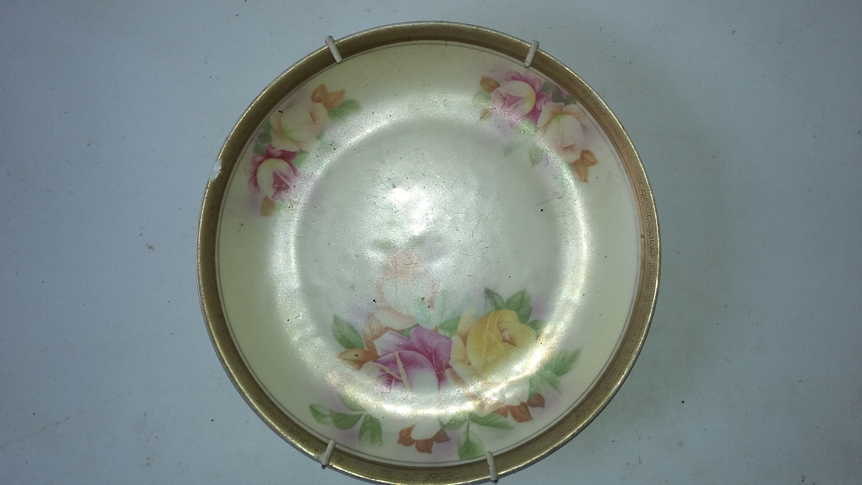 Decorative Plate Rose Theme