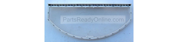 "Maytag Crosley Dryer Lint Screen 53-0918 Moon-Shaped Lint Filter 14-1/2"" long by 3/8"" left, 5/8"" right side, Clean Before Each Use"