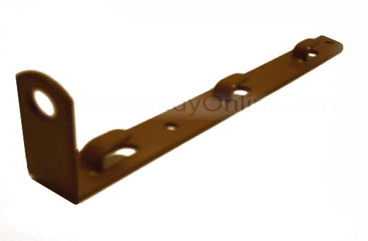 OUT OF STOCK $20 METAL Ear Bracket for Mattress Support with Rod Angle 3 height adjustments-brown
