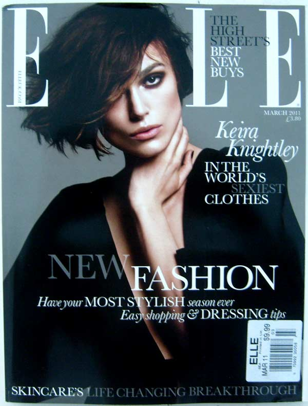Elle The Worlds Biggest-Selling Fashion Magazine March 2011 (printed in UK)