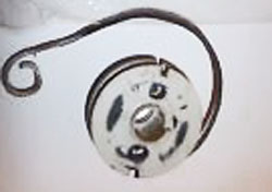 Poulan Weed Eater Starter Pulley 530071786 with Spring 530042085 FL20C Gas Trimmer
