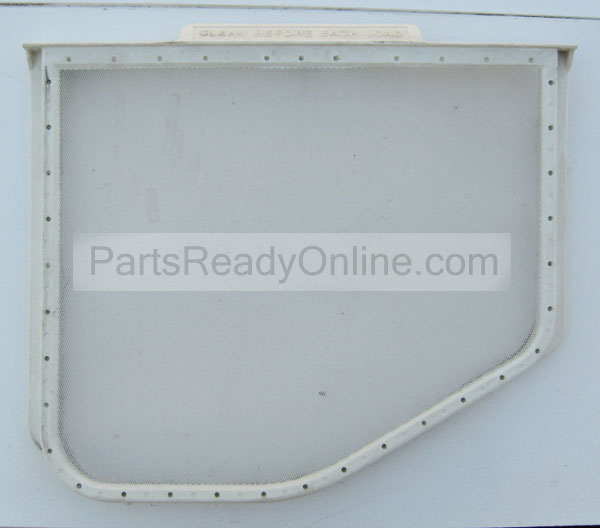 "Kenmore Whirlpool Lint Screen 3390721 replaces W10120998, 8066170, 8572268 (12"" Wide Lint Trap, Lint Filter with Slope)"