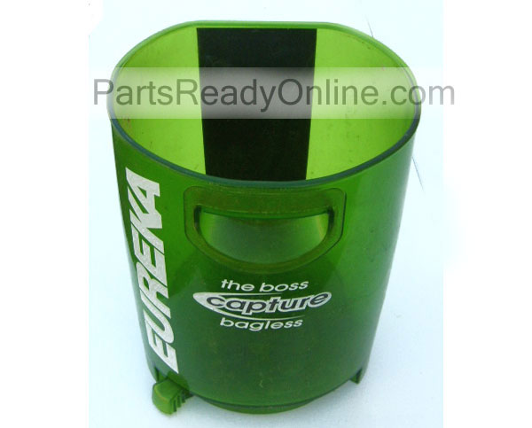 OUT OF STOCK Dirt Cup for Eureka Boss Capture Vacuum Model 8803AVZ Limelight Green