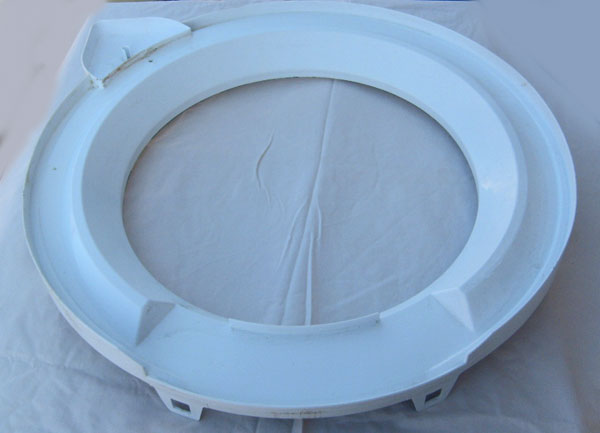 Washer Tub Ring 8528150 with Gasket / Splash Guard for Whirlpool, Kenmore, Roper Washers