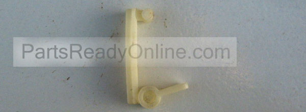 Plastic Hinge for Control Panel. CONSOLE HINGE 387402 for Washer and Dryer