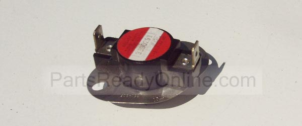 FSP Hi Limit Thermostat 3390291 L250-80F for Whirlpool Kenmore Dryers (or purchase Thermal Cutoff Kit 3977394, 3389946)