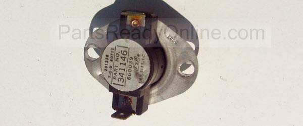 Whirlpool Dryer Cycling Thermostat 341146 (Whirlpool 694674) L150-20F for Whirlpool Kenmore Dryers