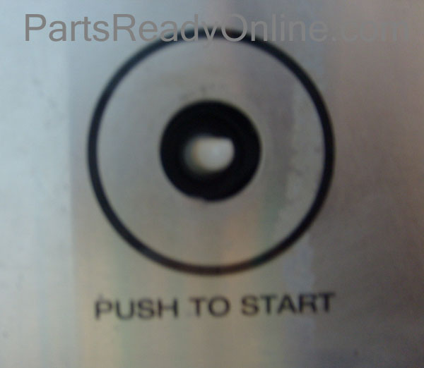 Clothes Dryer Push-To-Start Switch part number 3395382 Whirlpool, Roper, Kenmore, Estate Dryer Start Switch