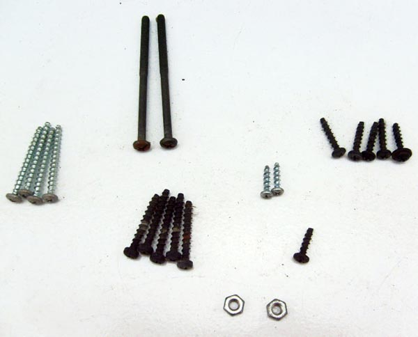 Screws Set for Hoover Upright Vacuum U5468-900