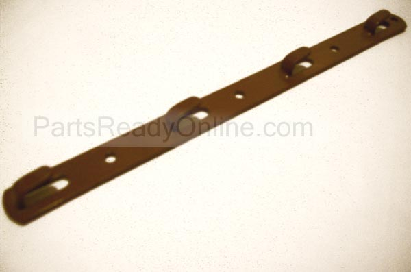 "Hook-on Metal Bracket for Adjustable Crib Mattress Supports (Metal Ear Bracket) 10 3/8"" LONG"