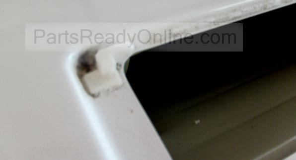 Whirlpool Lint Cover Hinge (Left)