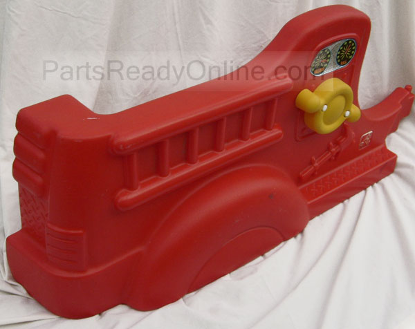 Truck Bed Step >> Step 2 Fire Engine Toddler Bed Right Replacement Part -Fire Truck Bed RIGHT Side