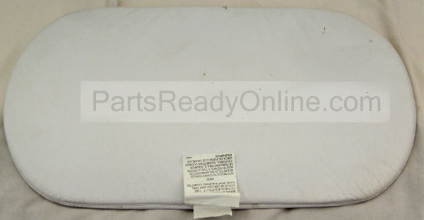 "Kolcraft Bassinet Oval Mattress Pad 14"" x 29"""
