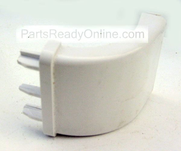 "OUT OF STOCK Frigidaire Refigerator Door Shelf End Cap 218809701 Snap-in Door Bar Support, Endcap for 1.75"" Bar"