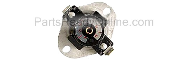 Whirlpool, Roper, Kenmore Dryer Cycling Thermostat (Adjustable L135 through L155) L155-20F