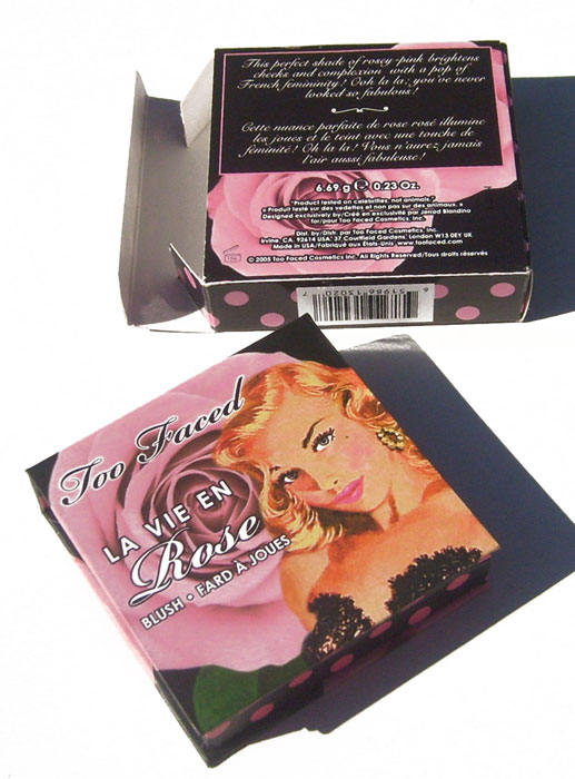 OUT OF STOCK Too Faced La Vie En Rose Blush Fard A Joues 0.23 oz 6.69 g