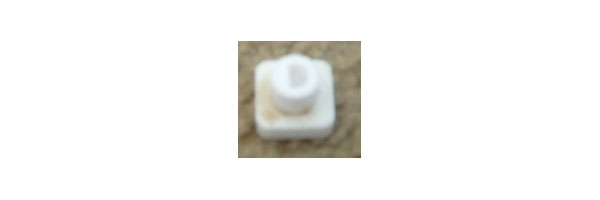 "OUT OF STOCK $10 Amana Microwave Coupler R0803575 7/8"" Square Coupler"