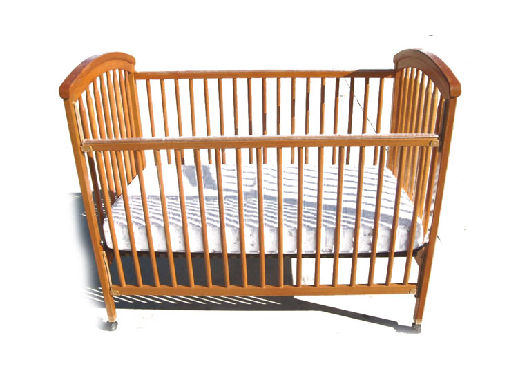 Graco Simplicity Crib Headboard -Natural Finish
