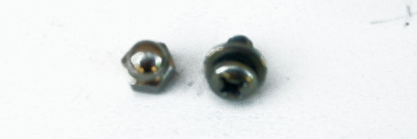 Graco Nut and Bolt for Mattress Bracket and S-bracket