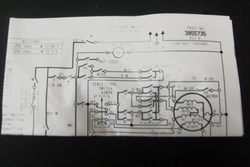 Kenmore Elite Washer Wiring Diagram 3955735 Model 11023032100