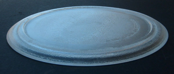 "Sunbeam Microwave Glass Tray 3390W1G005D 9 5/8"" Diameter"