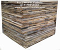 Reclaimed Pallet Lumber Assorted 32-inch Wood Slats