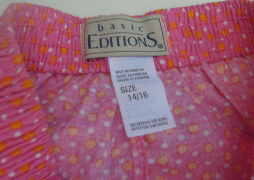 Pink Polka Dot Pink Shorts Sleepwear Fun Pijama Short Size 14 16