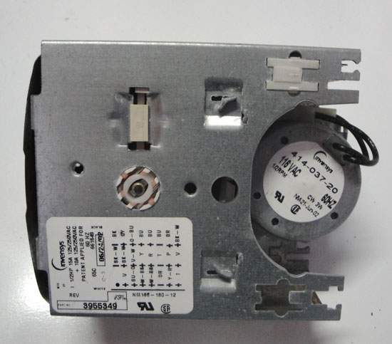 Whirlpool Washer Timer 3955349 3953937A