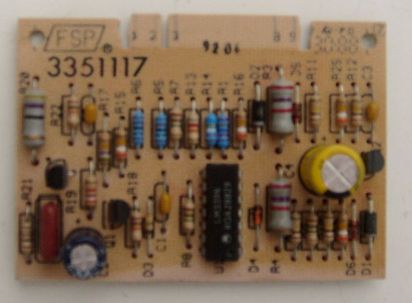 Washer Water Temperature Board 3351117