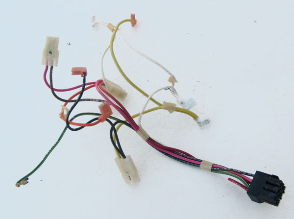 Whirlpool Refrigerator Wire Harness 2187306 for the Control ... on cable harness, radio harness, engine harness, nakamichi harness, suspension harness, amp bypass harness, electrical harness, safety harness, oxygen sensor extension harness, battery harness, maxi-seal harness, dog harness, pet harness, obd0 to obd1 conversion harness, alpine stereo harness, fall protection harness, pony harness,
